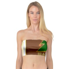 Art Deco Holiday Card Bandeau Top