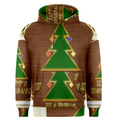 Art Deco Holiday Card Men s Pullover Hoodie