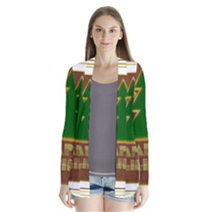 Art Deco Holiday Card Cardigans