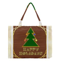 Art Deco Holiday Card Medium Tote Bag