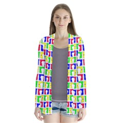 Colorful Curtains Seamless Pattern Cardigans