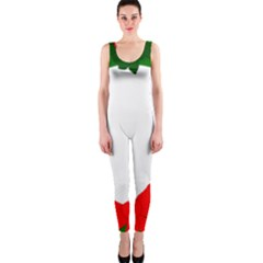 Holiday Wreath OnePiece Catsuit