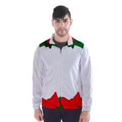 Holiday Wreath Wind Breaker (men)