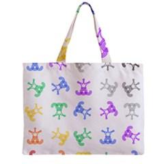 Rainbow Clown Pattern Mini Tote Bag