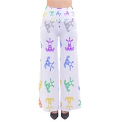 Rainbow Clown Pattern Pants