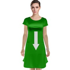 Arrow Green Cap Sleeve Nightdress