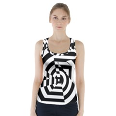Broken Mirror Racer Back Sports Top