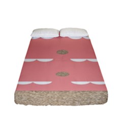 Cool Rose Fitted Sheet (full/ Double Size)