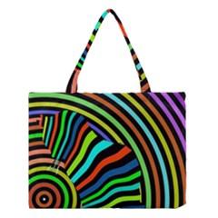 Colorful Cat Medium Tote Bag