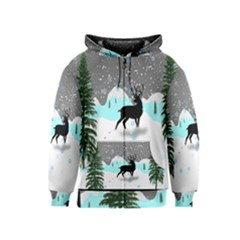 Rocky Mountain High Colorado Kids  Zipper Hoodie