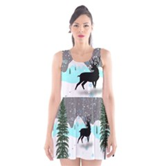 Rocky Mountain High Colorado Scoop Neck Skater Dress