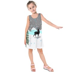 Rocky Mountain High Colorado Kids  Sleeveless Dress
