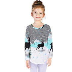 Rocky Mountain High Colorado Kids  Long Sleeve Tee