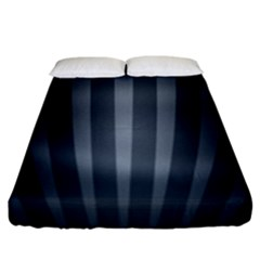 Grey Black Fitted Sheet (king Size)
