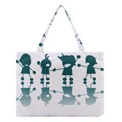Happy Kids Medium Tote Bag