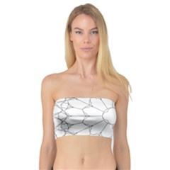 Roses Stained Glass Bandeau Top