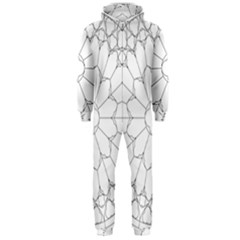 Roses Stained Glass Hooded Jumpsuit (Men)