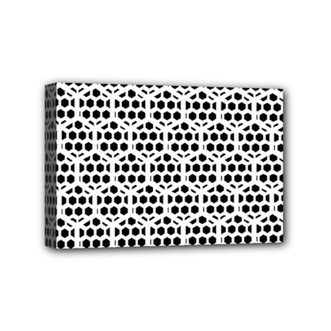 Seamless Honeycomb Pattern Mini Canvas 6  X 4