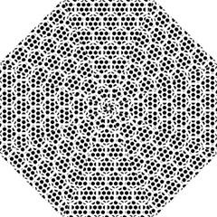 Seamless Honeycomb Pattern Straight Umbrellas