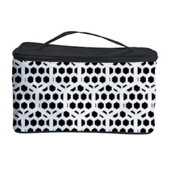 Seamless Honeycomb Pattern Cosmetic Storage Case