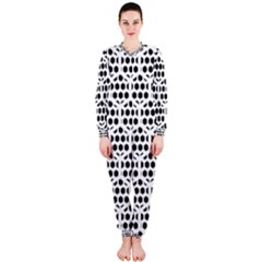 Seamless Honeycomb Pattern Onepiece Jumpsuit (ladies)
