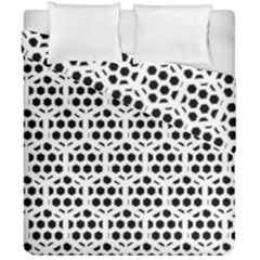 Seamless Honeycomb Pattern Duvet Cover Double Side (california King Size)