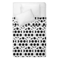 Seamless Honeycomb Pattern Duvet Cover Double Side (single Size)