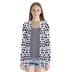 Seamless Honeycomb Pattern Cardigans