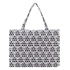 Seamless Honeycomb Pattern Medium Tote Bag