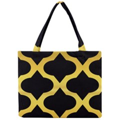 Seamless Gold Pattern Mini Tote Bag