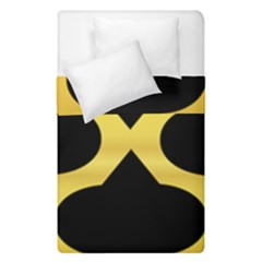 Seamless Gold Pattern Duvet Cover Double Side (single Size)