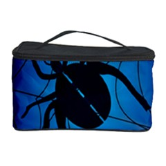 Spider On Web Cosmetic Storage Case