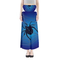 Spider On Web Maxi Skirts