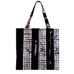 Whitney Museum Of American Art Zipper Grocery Tote Bag