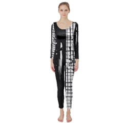 Whitney Museum Of American Art Long Sleeve Catsuit