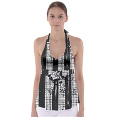 Whitney Museum Of American Art Babydoll Tankini Top