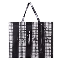 Whitney Museum Of American Art Zipper Large Tote Bag