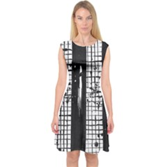 Whitney Museum Of American Art Capsleeve Midi Dress