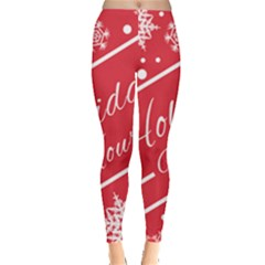 Winter Holiday Hours Leggings