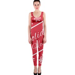 Winter Holiday Hours Onepiece Catsuit