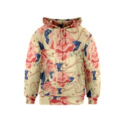 Beautiful Pink Roses Kids  Zipper Hoodie