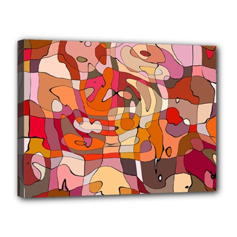 Abstract Abstraction Pattern Moder Canvas 16  X 12