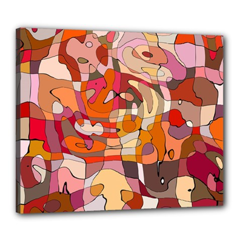 Abstract Abstraction Pattern Moder Canvas 24  X 20