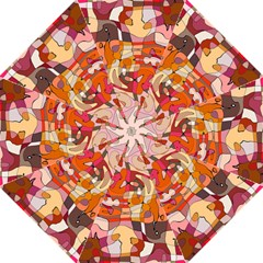 Abstract Abstraction Pattern Moder Folding Umbrellas