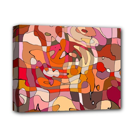 Abstract Abstraction Pattern Moder Deluxe Canvas 14  x 11