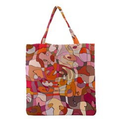 Abstract Abstraction Pattern Moder Grocery Tote Bag