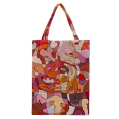 Abstract Abstraction Pattern Moder Classic Tote Bag
