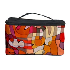 Abstract Abstraction Pattern Moder Cosmetic Storage Case