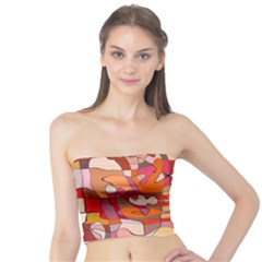 Abstract Abstraction Pattern Moder Tube Top