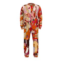 Abstract Abstraction Pattern Moder Onepiece Jumpsuit (kids)